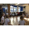 Dance workshop with Wriggle Dance