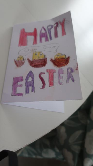 Elena's Easter Card