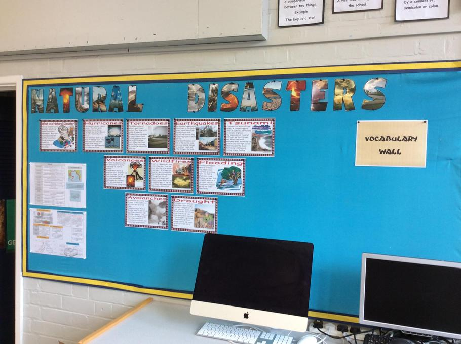 Our focus topic, feel free to research some key words for the display!