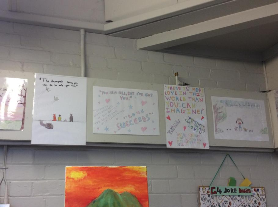 There are some wonderful ideas captured through our Wellbeing work