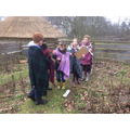 Finding clues to follow a path around the forest.