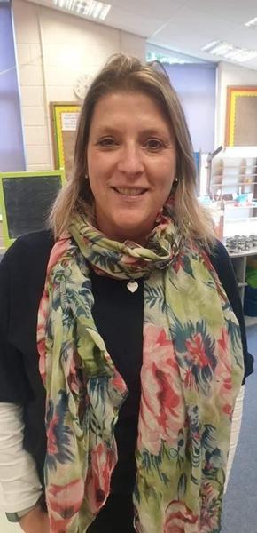 Class One teacher Mrs Harrison