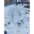 Lottie made The Gruffalo and an Ice Palace