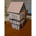 Lewis made this Tudor house.