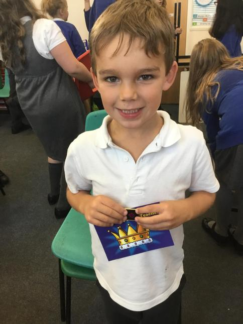 Jack for being a fabulous role model to Reception