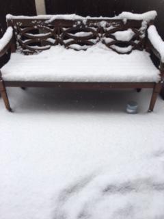 Isabella's Grandad's bench