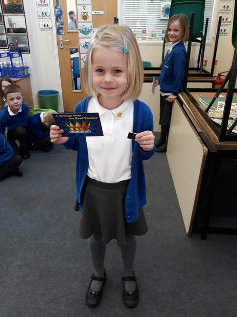 Julia for kindness to our new pupil