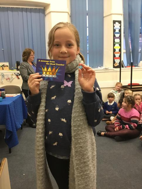 Daisy for fantastic effort in work and friendships