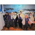 Dressing up as animals in the polar regions!