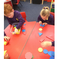 Using 2d shapes to make rockets