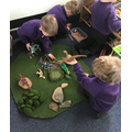 We told our own Dinosaur stories.