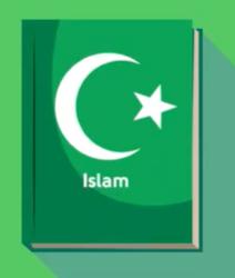 We learned that Muslim people read The Koran.