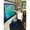 We learnt about England and how to find the United Kingdom on a map.