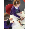 We made our own Dinosaur fact books
