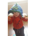 A monster hat!