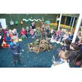 Mini Mortons and reception class bonfire