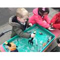 We explored ice