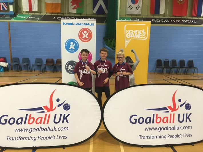 Goalball - Silver medal-County Finals