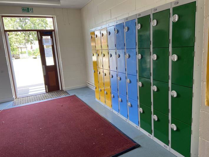 Belongings stored safely