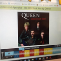 We listened to a popular song by Queen.