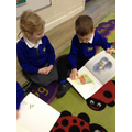 Sharing a book