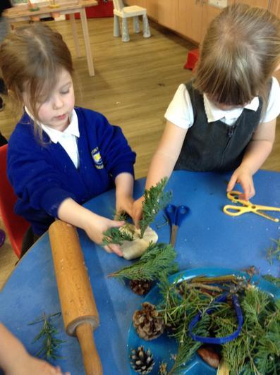 Exploring woodland treasures