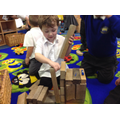 We built farm vehicles with a variety of resources
