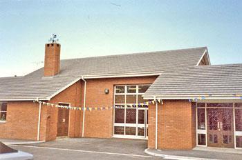 The school on it's 25th anniversary celebrations