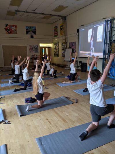 Year 5 - Yoga