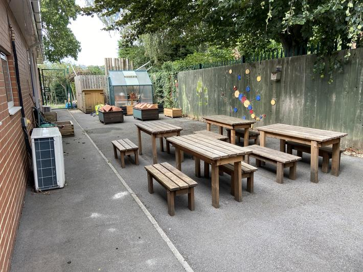 Year 2-3 Outdoor learning area