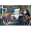 Eyfs worked together to make guy