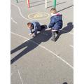 We explored light and dark - shadows!