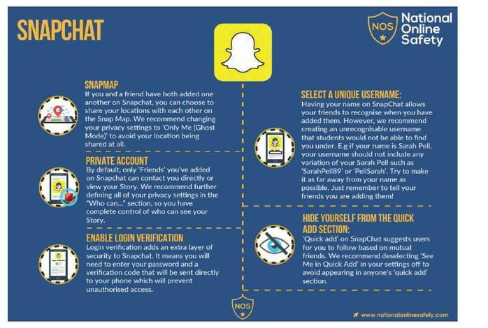 Snapchat E-Safety