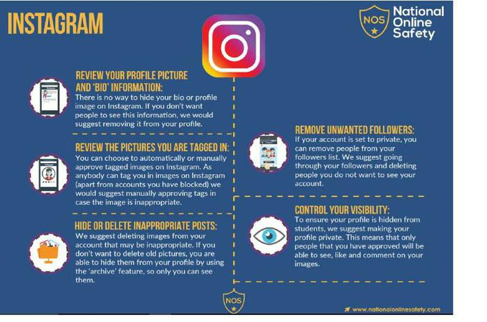 Instagram E-Safety