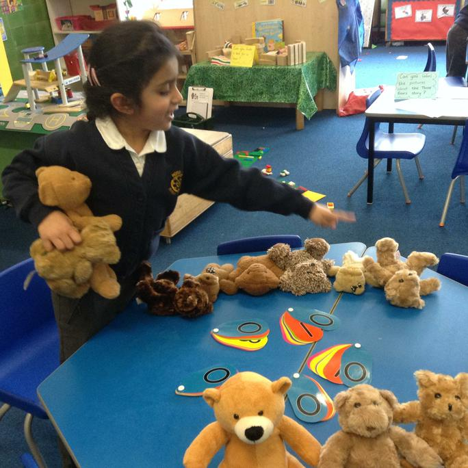 Adding and subtracting bears
