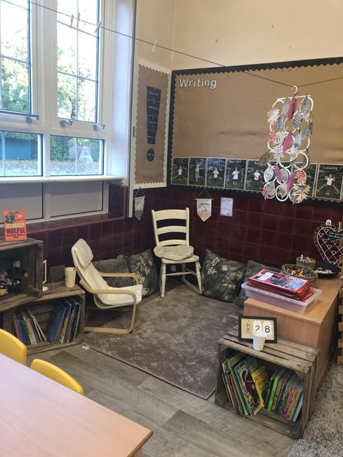 Year 2 book area