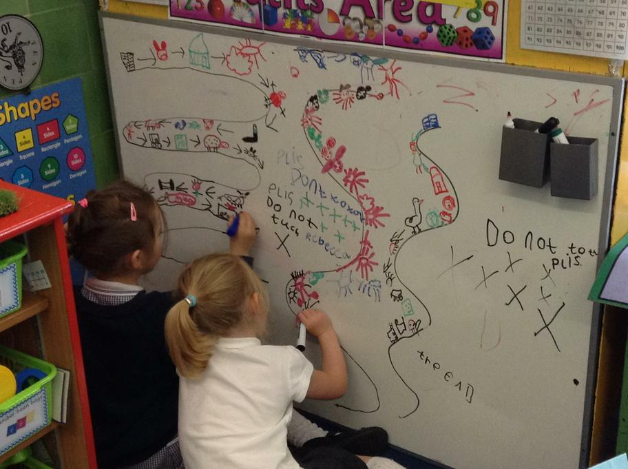 Making a map about the story