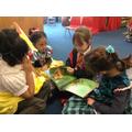 We enjoyed listening to Year 2 reading stories.