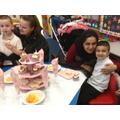 We enjoyed the cakes