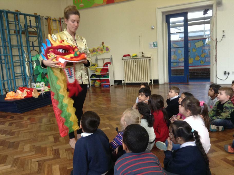Chinese dancing