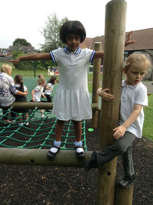 Zoya balancing and moving!