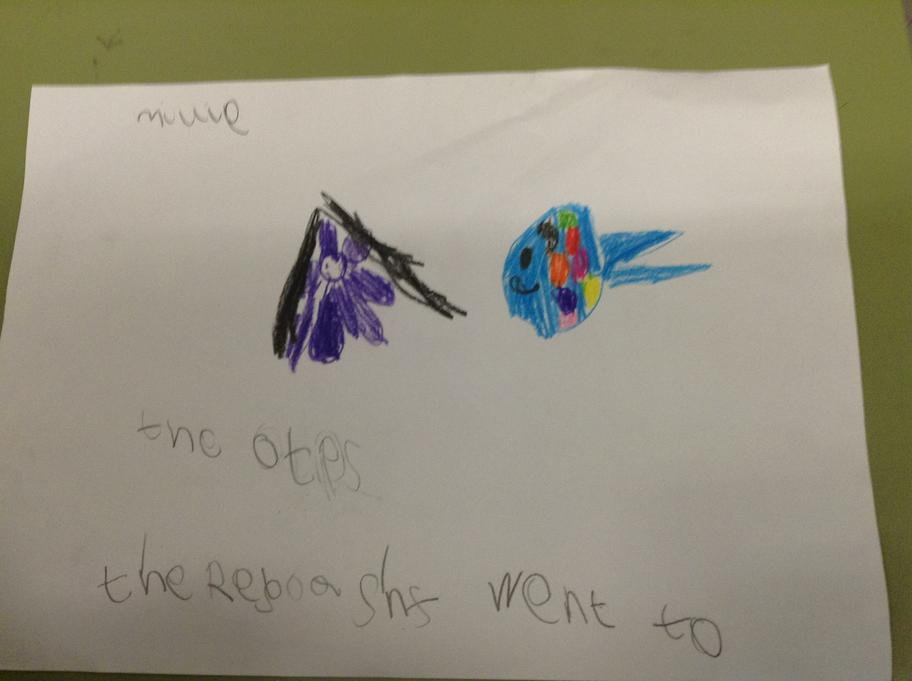 Super writing about the Rainbow fish