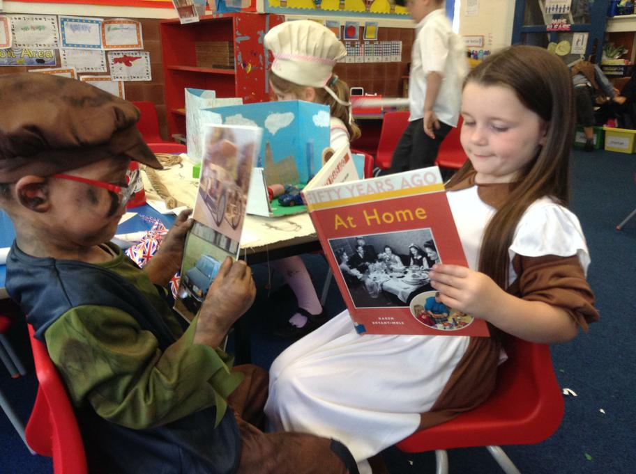 Jack and Hannah finding out about Victorian times