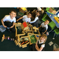 We designed and built a zoo - teamwork