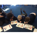 We used penguins to help us write number sentences