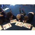 We used penguins to help us write number sentences