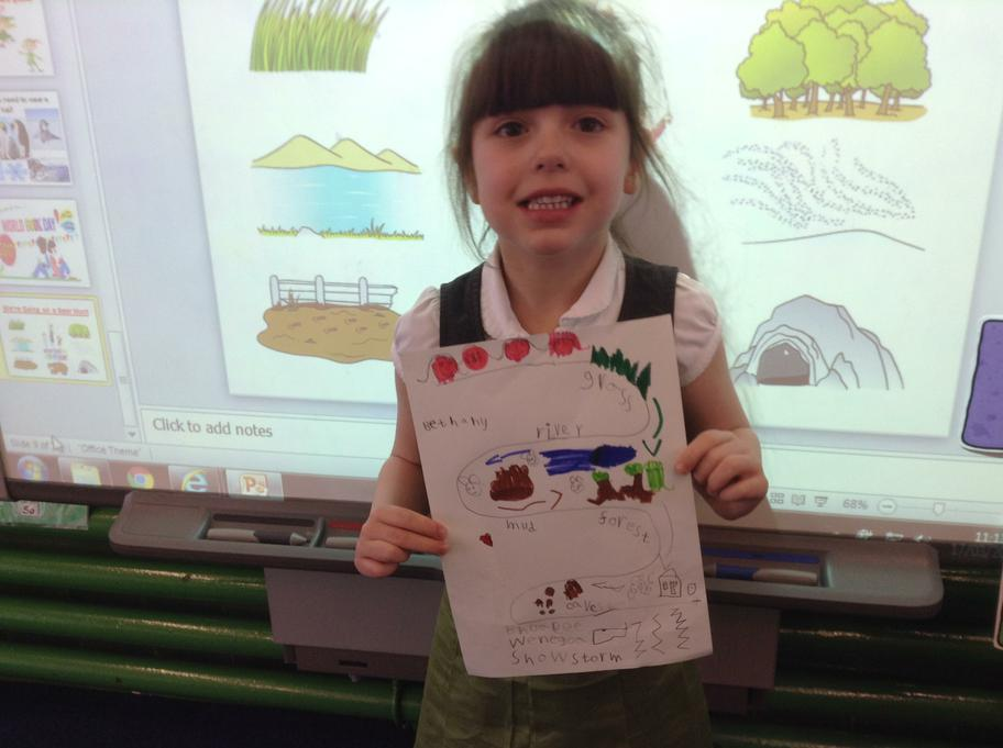 Creating another bear hunt story map