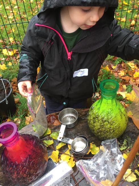 Making potions and predicting