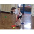 Using sticks in PE