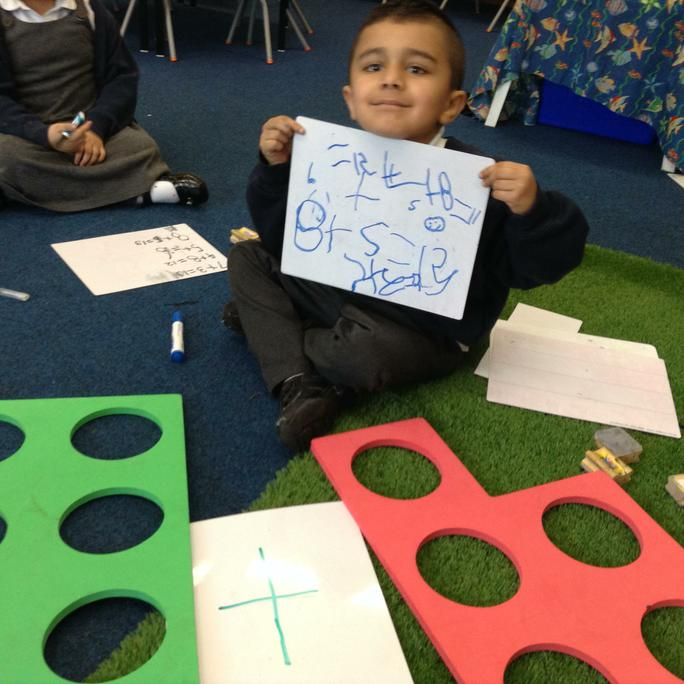 Uhbann shows his number sentences